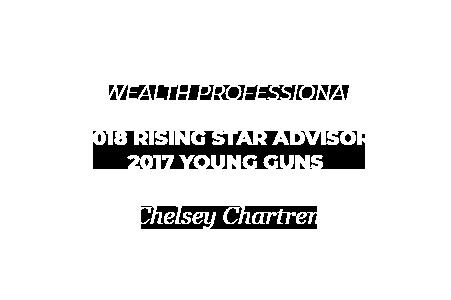Wealth Professional: 2018 Rising Star Advisor, 2017 Young Guns, Chelsey Chartren