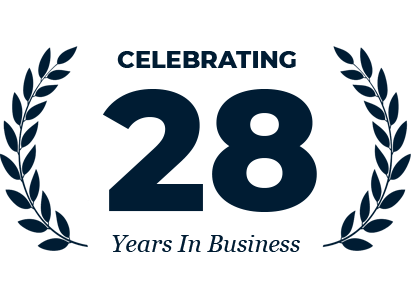 Celebrating 28 Years In Business