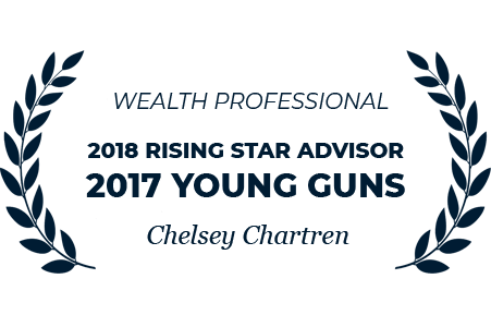 Wealth Professional - 2018 Rising Advisor - 2017 Young Guns - Chelsey Chartren